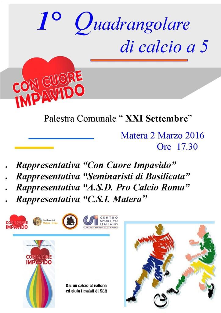 2-LOCANDINA 1° TORNEO QUADRANGOLARE CALCLIO A 5 -02-03-16